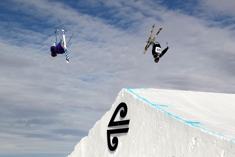 big air skiing x games