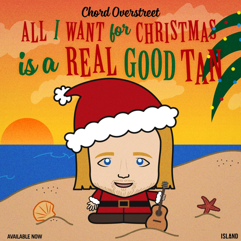 """LISTEN: Chord Overstreet Drops New Song """"All I Want For Christmas is ..."""